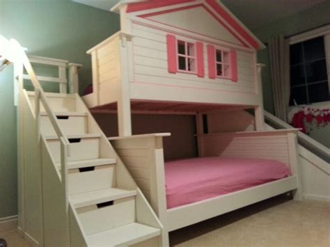 bunk bed house dollhouse bunkbed stuff for sis pinterest