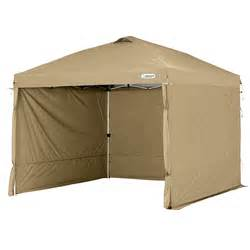 First Up Gazebo With Screen Walls by First Up Tan 10x10 Pop Up Canopy Wind Curtains Sidewalls