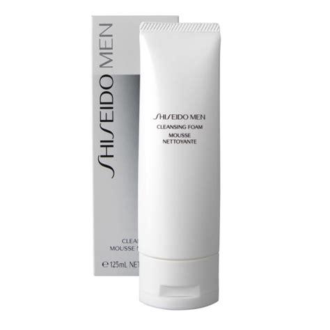 Mens Cleanse Detox by Shiseido Mens Cleansing Foam 125ml Buy Mankind