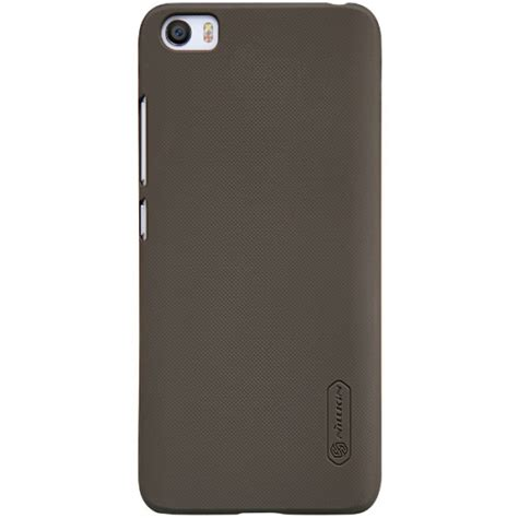 Nillkin Frosted Casing Cover For Xiaomi Mi6 Hitam jual nillkin frosted xiaomi mi5 mi 5 brown indonesia original harga murah