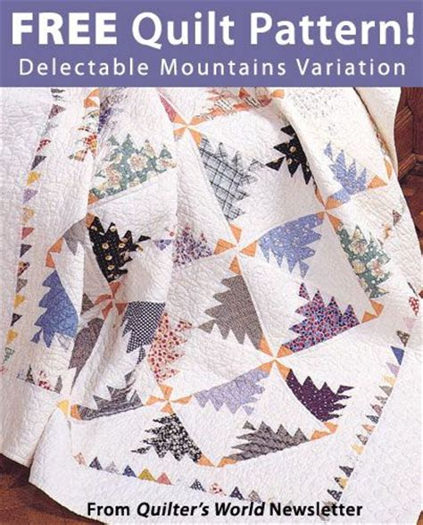 quilt pattern delectable mountains 100 best images about quilts delectable mountains on
