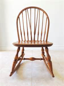 nichols maple rocking chair youth size