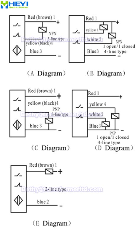 wiring 4 wire npn proximity sensor wiring free engine