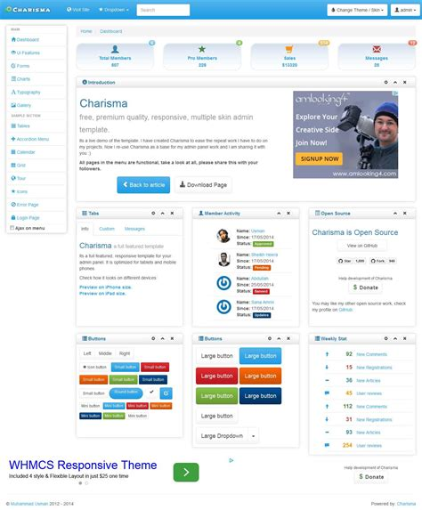 bootstrap v3 themes free bootstrap admin templates thesoftwareguy