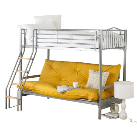 futon and bunk bed alaska futon bunk bed with futon
