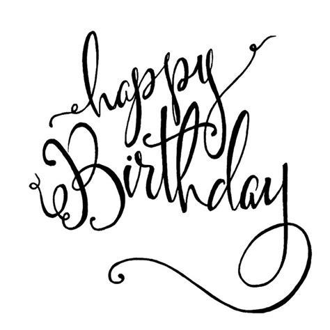 write happy birthday in design happy birthday writing fonts www imgkid com the image
