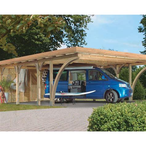 carport varianten www woodhome ch karibu doppelcarport premium doppel 2