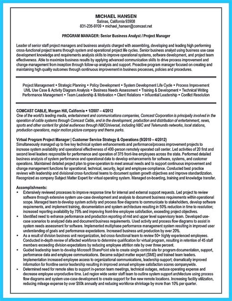 business analyst sample resume flexible captures example 530 710