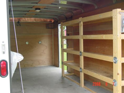 tool storage enclosed trailer tool storage ideas
