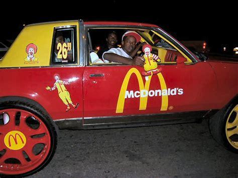 mcdonald 39 s car