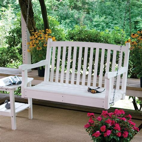 4 foot porch swing 4 foot white porch swing jbeedesigns outdoor selecting