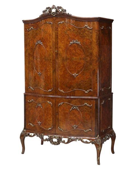 Walnut Bar Cabinet by Louis Xv Style Walnut Bar Cabinet Summer Estates Auction