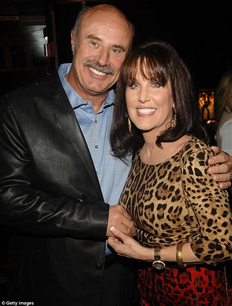 has anyone seen robin mcgraw dr phils wife recently dr phil s wife robin mcgraw on the secret behind her 37