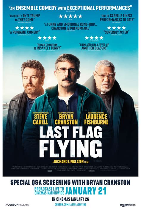 last flag flying last flag flying plus live q a with bryan cranston