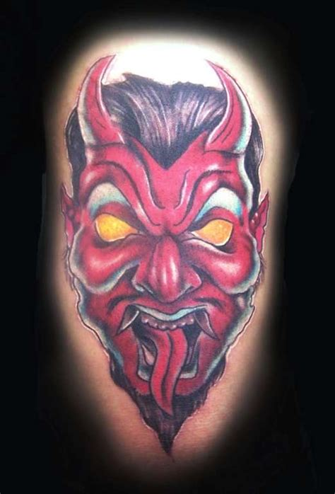 red demon tattoo related keywords