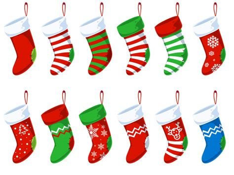 twenty five days of christmas minu stocking on a rope from crackabsral free psd free vector 365psd