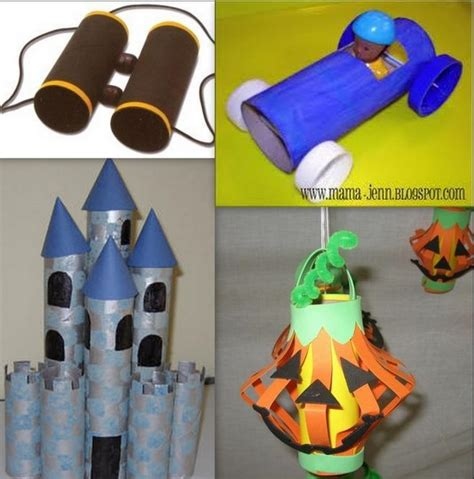 Recycled Toilet Paper Roll Crafts - toilet paper roll crafts perhaps april earth month can