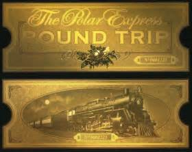Polar Express Tickets Templates » Home Design 2017