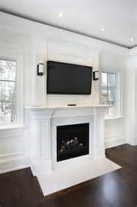 49 Exuberant Pictures of TV's Mounted Above Gorgeous Fireplaces (GREAT IMAGES)