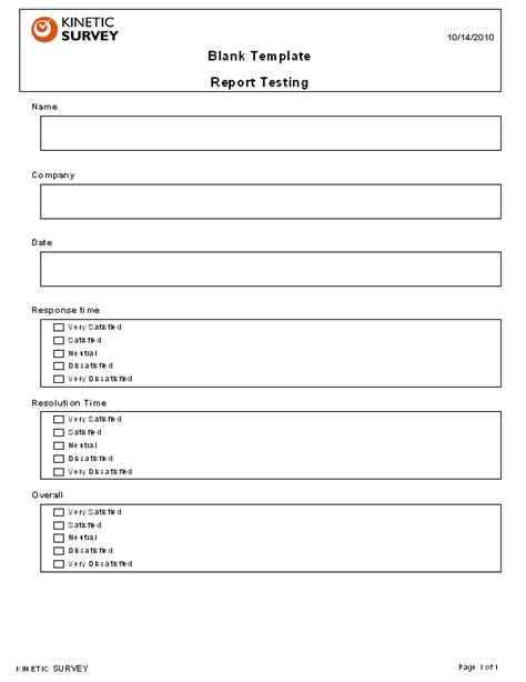blank survey template blank survey template