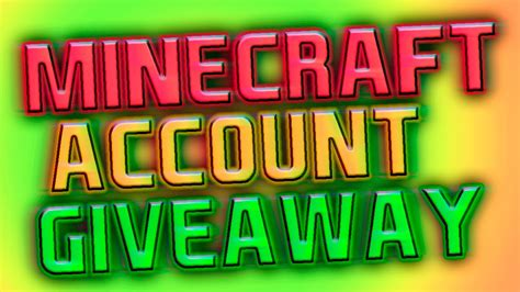 Minecraft Premium Giveaway - minecraft premium account giveaway august september 2015 youtube
