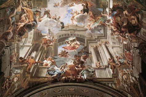 Who Began The Tradition Of Illusionistic Ceiling Painting illusionistic ceiling painting