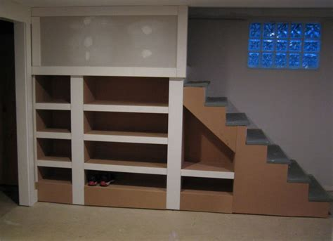 Stairs From Garage To Basement by 17 Best Images About Finished Basement Ideas On