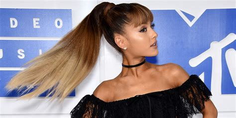 how to do ariana grande high ponytail hairstyles how to get ariana grande s perfect vmas ponytail