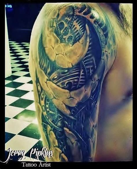 biomechanical tattoo florida 17 best images about tattoos by jerry pipkins on pinterest