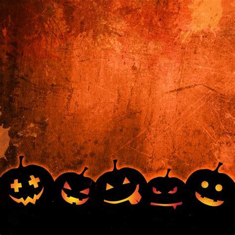 descargar imagenes de halloween gratis fondo naranja grunge para halloween con calabazas
