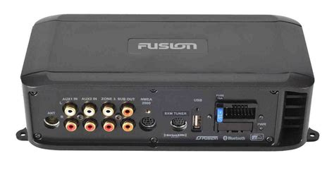 fusion boat radio bluetooth fusion ms bb300 marine black box nmea2000 bluetooth radio