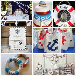 nautical baby shower theme decorations nautical themed ideas and inspiration