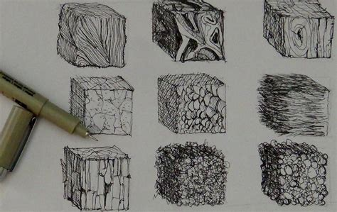 drawing  pencil realistic textures drawing group