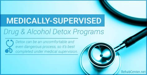 Detox Programs by Medically Supervised And Detox Programs