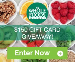 Whole Foods Gift Card Giveaway - whole foods gift card giveaway savings at totally free stufftotally free stuff