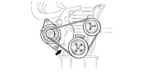 2002 Kia Spectra Alternator 2003 Kia Spectra Replacing Alternator Belt 2003 Kia