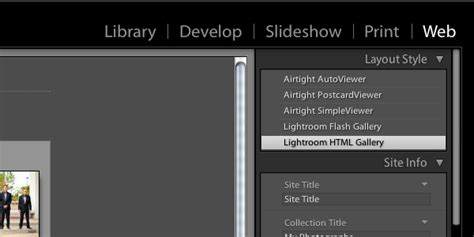 Mastering Lightroom Slideshows And Web Galleries Lightroom Slideshow Templates Free