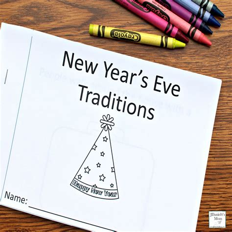 new year traditions printable new year s traditions around the world printable book