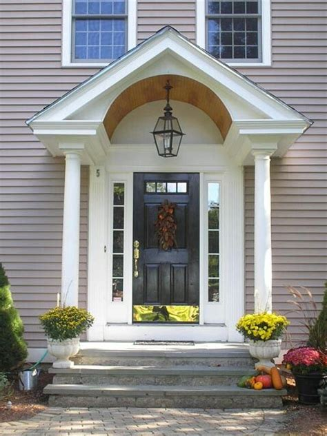 exterior arch portico front entry traditional entry philadelphia by cushing custom homes 17 best images about barrel roof entry on pinterest