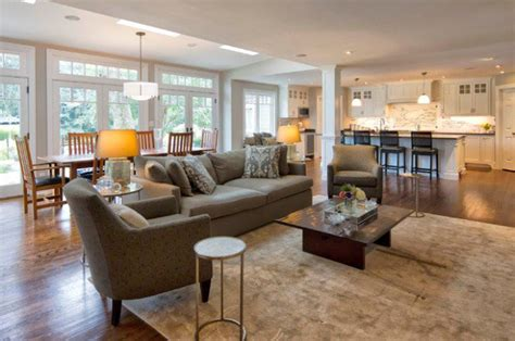open floor plan living room ideas 17 open concept kitchen living room design ideas style