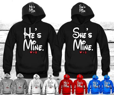 Customized Sweaters For Couples He S Mine She S Mine Disney Quot Couples Matching
