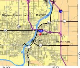 map of saginaw 48607 zip code saginaw michigan profile homes