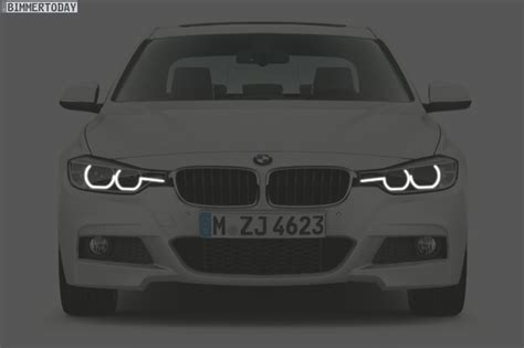 Bmw 1er Halogen Scheinwerfer Facelift Lci by 2016 Bmw 3 Series Lci Full Led Provides New Light Design