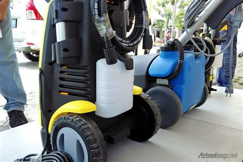 Alat Cuci Motor Pakai Listrik krisbow luncurkan 4 alat cuci steam rumahan autonetmagz