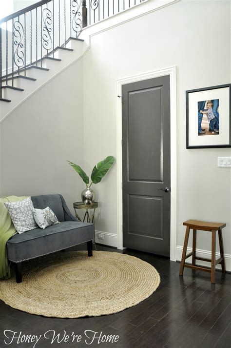 Gray Interior Doors Black Gray Painted Interior Doors Honey We Re Home