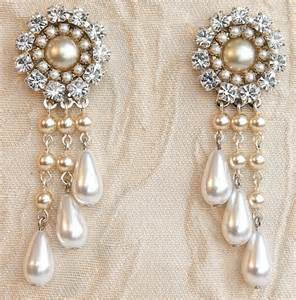 Bridal Chandelier Earrings With Pearls Bridal Chandelier Earrings Bridal Jewelry Wedding Earrings Drop Vintage Pearl Earrings