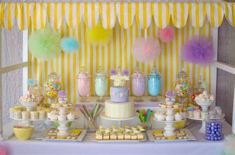 Candies For Baby Shower by Kara S Ideas Fairyfloss Cotton Baby Shower