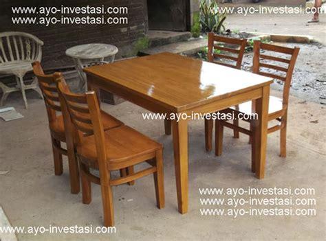 Meja Makan Lesehan Murah kursi kayu tanpa sandaran berbagai macam furnitur kayu