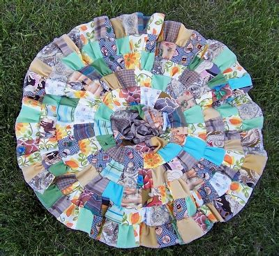 Patchwork Skirt Tutorial - patchwork circle skirt tutorial wearables