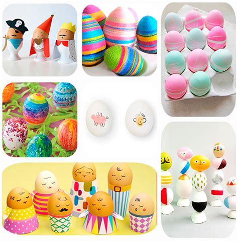 huevos decorados para la escuela 7 ideas para decorar huevos de pascua pequeocio